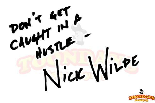 ニックワイルドのサイン
