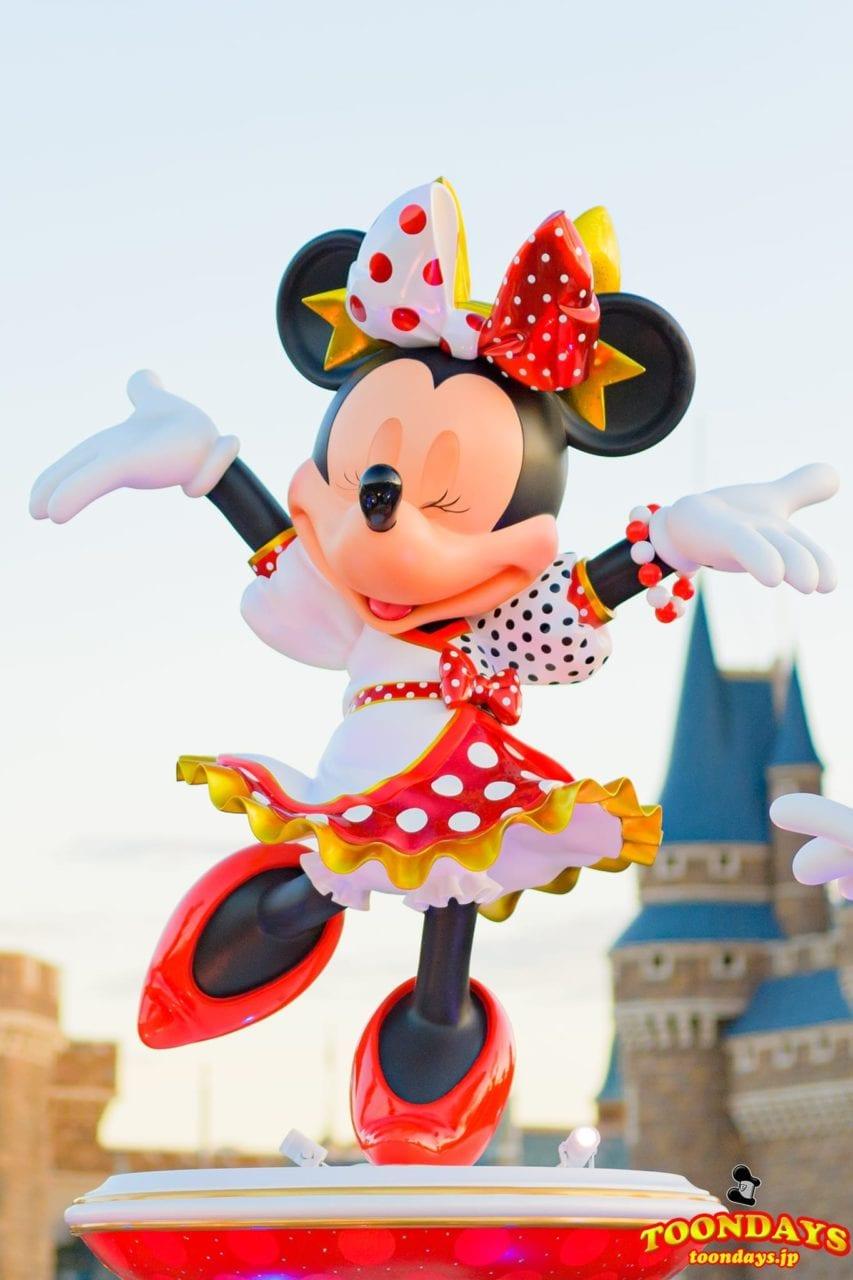 ミニーマウスのフォトロケーション