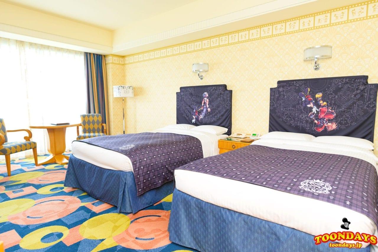ディズニーアンバサダーホテル 『キングダム ハーツ』スペシャルルーム