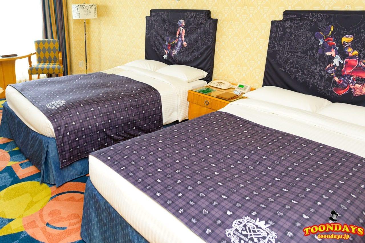 キングダムハーツ スペシャルルームのベッド