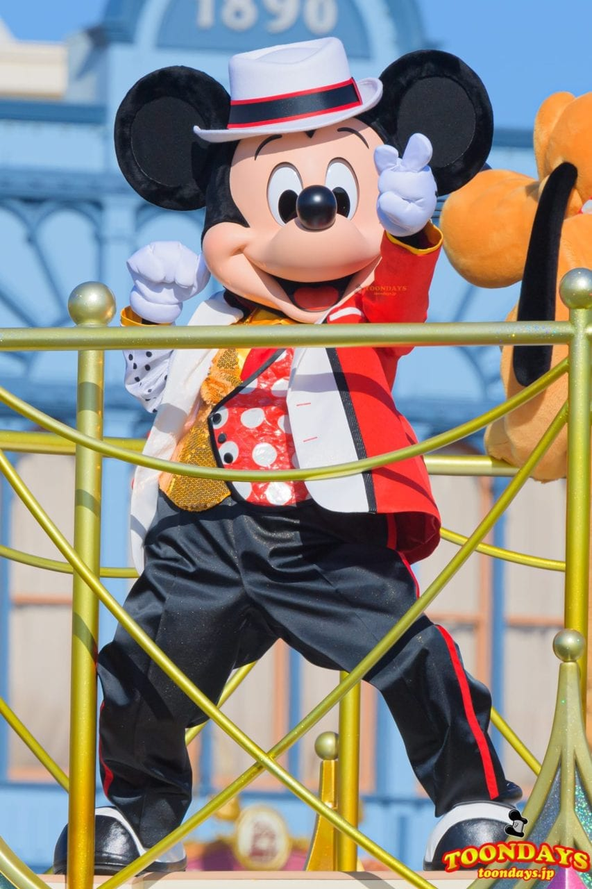 『ベリー・ミニー・リミックス』のミッキーマウス