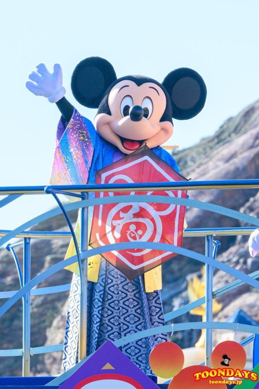TDS『ニューイヤーズ・グリーティング』のミッキーマウス