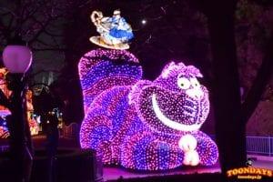 今の東京ディズニーランド・エレクトリカルパレード・ドリームライツのチェシャ猫