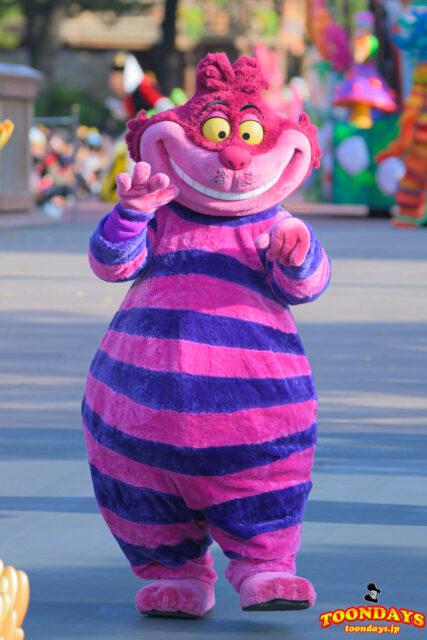 ドリーミング・アップ !で会えるチェシャ猫