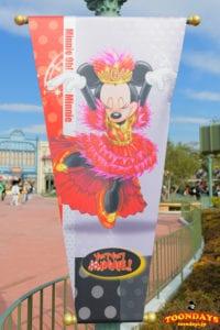 ミニー・オー!ミニーのミニーマウス バナー