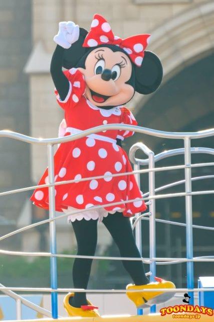 ジャンボリミッキーのミニーマウス