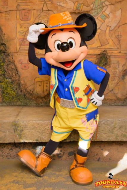 ミッキーマウスのキャラクターグリーティング