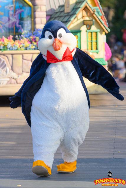 ウェイターペンギンは鳥キャラクター