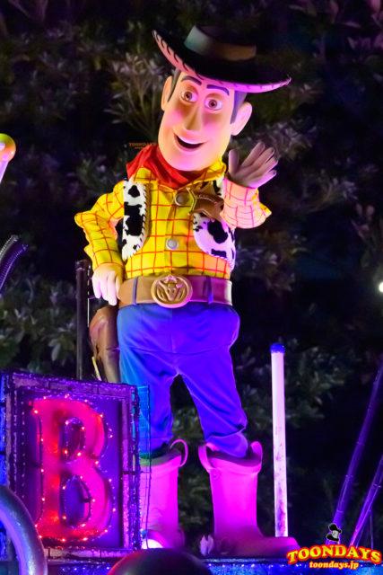 東京ディズニーランド・エレクトリカルパレード・ドリームライツのウッディ