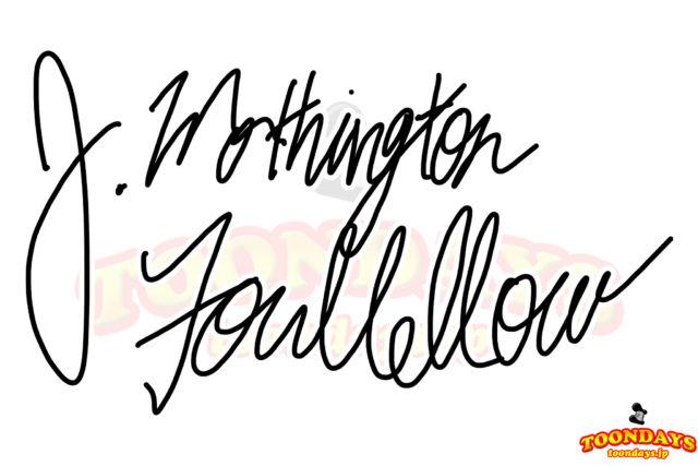 ファウルフェローのサイン