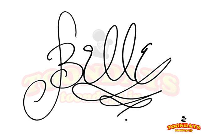 ベルのサイン