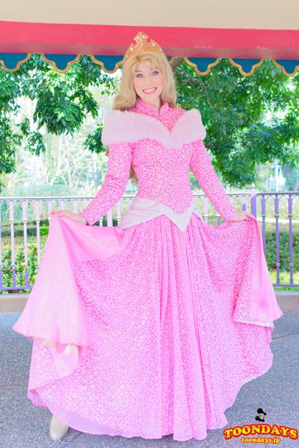 新衣装のオーロラ姫