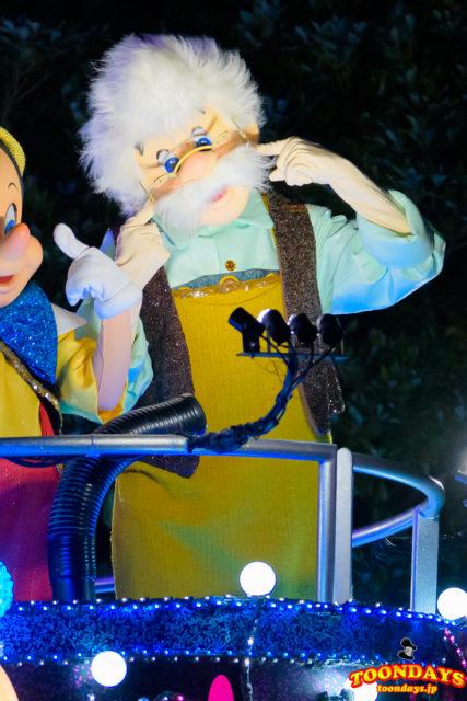 東京ディズニーランド・エレクトリカルパレード・ドリームライツのゼペット