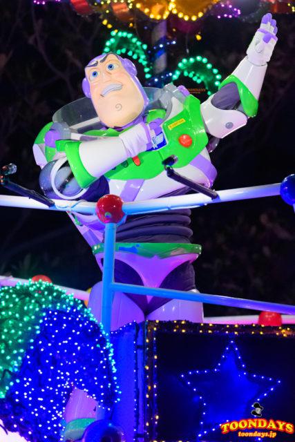 東京ディズニーランド・エレクトリカルパレード・ドリームライツのバズ・ライトイヤー