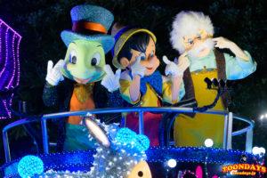 東京ディズニーランド・エレクトリカルパレード・ドリームライツに登場するピノキオ
