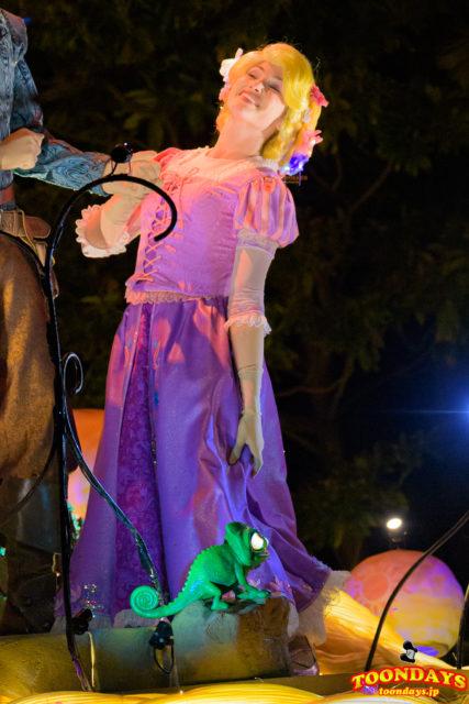 東京ディズニーランド・エレクトリカルパレード・ドリームライツのラプンツェル