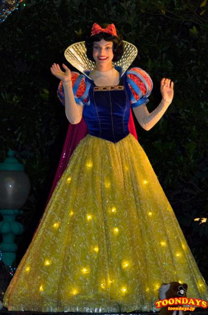 東京ディズニーランド・エレクトリカルパレード・ドリームライツの白雪姫