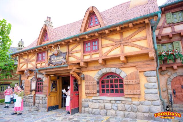 ニューファンタジーランドのレストラン『ラ・タベヌル・ド・ガストン』