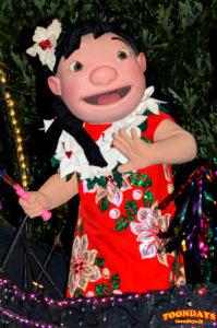 東京ディズニーランド・エレクトリカルパレード・ドリームライツのリロ(クリスマス)
