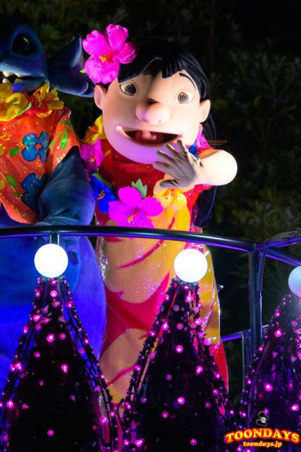 東京ディズニーランド・エレクトリカルパレード・ドリームライツのリロ